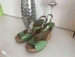 Wunderschöne Sommer Sandalen in Türkis -mint Farbe in Größe 39