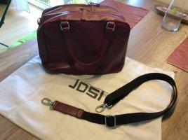Wunderschöne Tasche von Jost in bordeauxrot, NEU