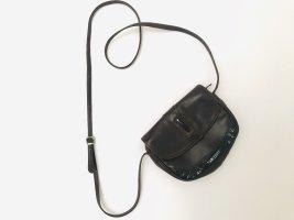Mini sac brun noir