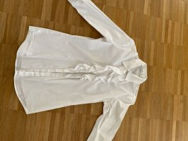 Aglini Blusa con lazo blanco