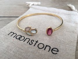 Moonstone Bangle gold-colored