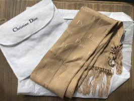 Dior Silk Scarf camel-beige