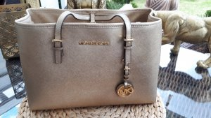 ***Wunderschöner eleganter Shopper Michael Kors GOLD Leder***