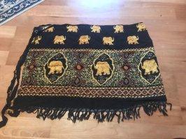 Wunderschöner kurzer Sarong mit Elefanten