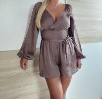 Devided von H&M Kurzer Jumpsuit grey lilac