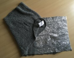 Marc Cain Écharpe en cachemire argenté-gris laine alpaga