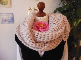 Merino Snug Wollen sjaal licht beige-room Wol