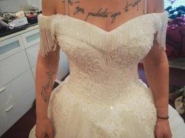 keine Vestido de novia blanco