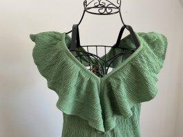 Wunderschönes grünes Zara Kleid