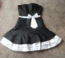 NoName Suknia balowa czarny-biały