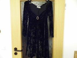 """Wunderschönes vintage Designer Samtkleid """"Hunza London Paris """" aus den 70er/80er Jahren"""