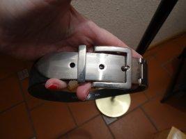 Wundervoller Ledergürtel mit silberner Hardware - SA-G-Ja  Belts