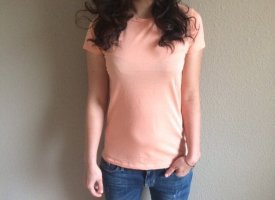 Wunderwerk Organic T-Shirt, Lachs, Gr. S