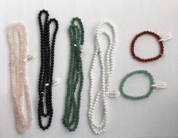 XENOX 925 Sterling Silber Perlen Armbänder