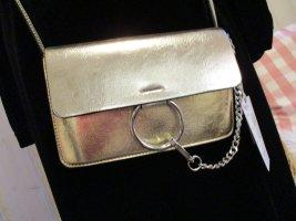 XUNA coole Crossover Umhängetasche Metallic Gold & Silber NEU