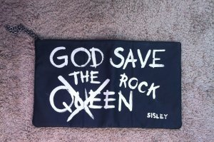 XXL Clutch - Sisley - God save the rock