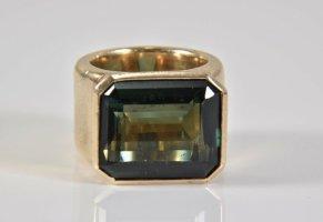 Modern vintage Zilveren ring veelkleurig Zilver