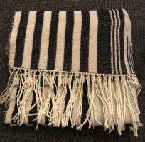 Barts Écharpe en tricot gris-blanc cassé