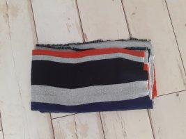 Asos Bufanda de lana negro-naranja