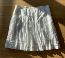 Yaya Falda estilo Crash blanco tejido mezclado