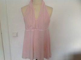 Yaya Halter Top light pink cotton