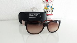 Benetton Sunglasses cognac-coloured