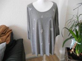 C&A Gestreept shirt grijs Gemengd weefsel