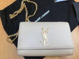 YSL Handtasche  Monogramme  Kate  beige/poudre