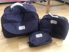 Bolso de viaje violeta oscuro
