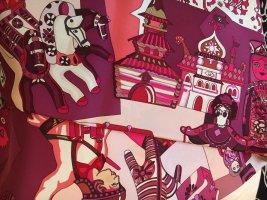 Hermès Panno di seta multicolore