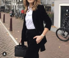 Zara Trouser Suit black