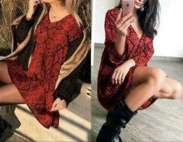 Zara Animal kleid minikleid