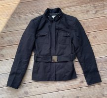Zara Basic Giacca militare nero