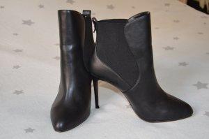 Zara Basic Slip-on laarzen zwart
