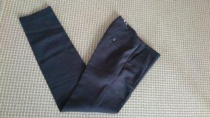 ZARA Basic Hose blau straight cut 34/XS