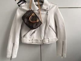 Zara basic Lederjacke XS