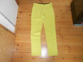 Zara Basic - neongelbe Sommerhose Gr. XL