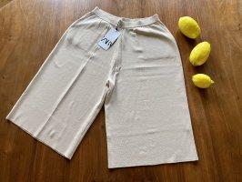 Zara: Bermudashorts aus Strick in Größe M, Neu mit Etikett