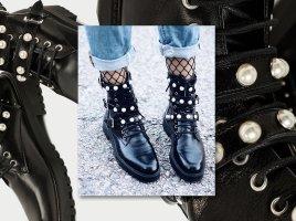 Zara blogger boots Perlen 37