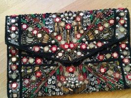 Zara Blogger Clutch Statemant Folklore-Style