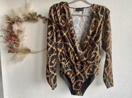 Zara Bodysuit Blouse multicolored