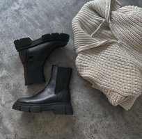 Zara boots neue mit Etikett 38 and its Leather!