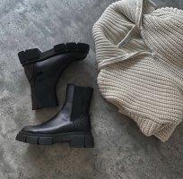 Zara boots neue mit Etikett 38 and its Leather!