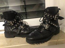 Zara boots Stiefel mit Nieten gr 38