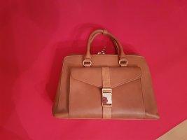 ZARA brown/cognac bag