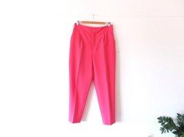 Zara Bundfaltenhose Anzughose Gr. L 40 Chino pink highwaist