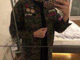 Zara Camouflage Jacke