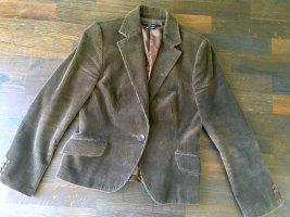 Zara Cord Blazer / kurze Jacke - Schick und modern / Blogger Stil / gr. Large. Weiches & samtiges Gefühlsmaterial, Tolle Passform!