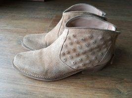 Zara cowboy boots aus Leder Gr.37
