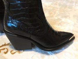 Zara Botas estilo vaquero negro